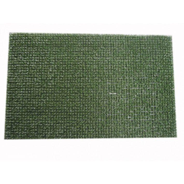 Zölcsi zöld astroturf lábtörlő szennyfogó 45x60cm