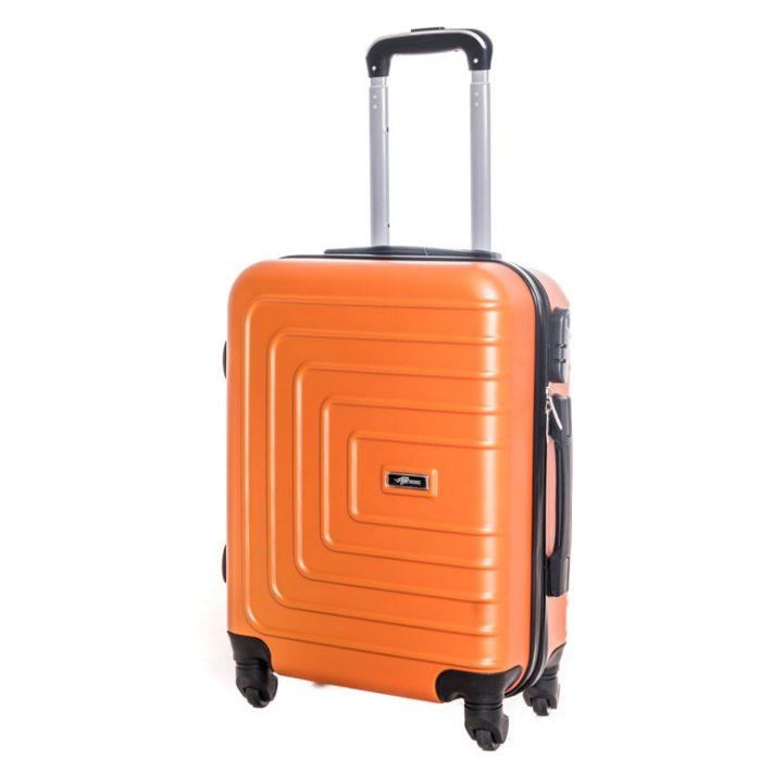 Abenberg bőrönd kabin méret narancs színben