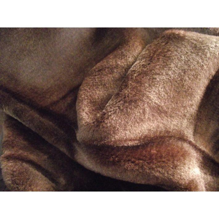 Csoki Sötétbarna Pléd Ágytakaró 200 x 240 cm