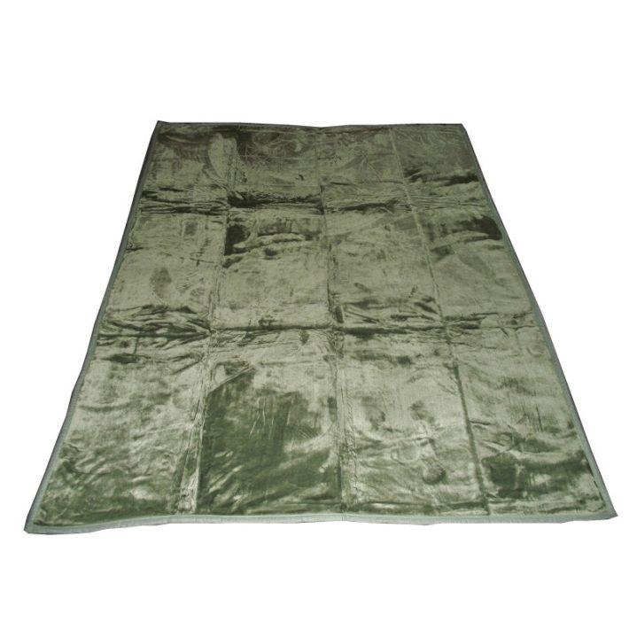 Azurea Zöld Ágytakaró, Pléd 150 x 200 cm