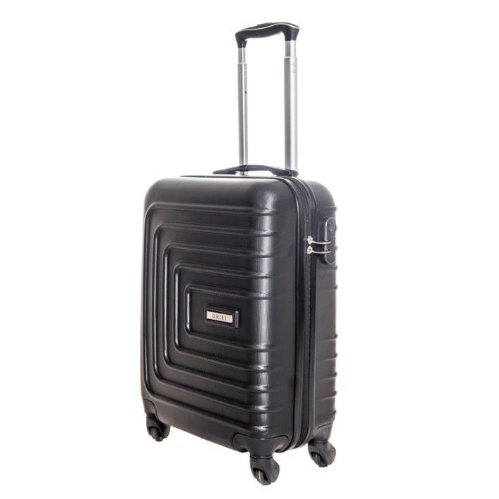Altenberg kabin bőrönd fekete színben
