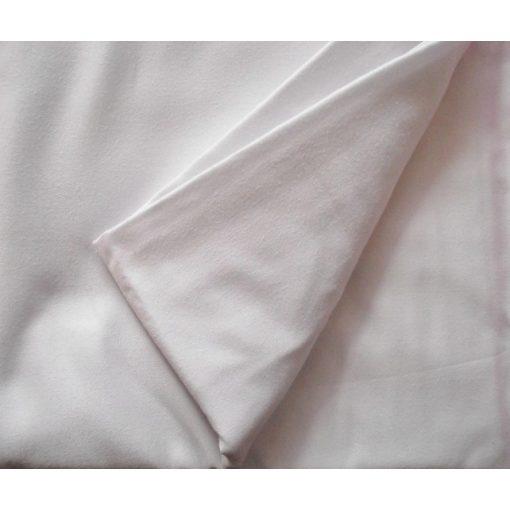 Szaloniki fehér vászon lepedő 220x240 cm