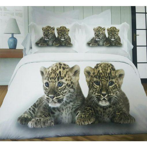 Sergio  leopárd kölyök 3D ágynemű 7 részes