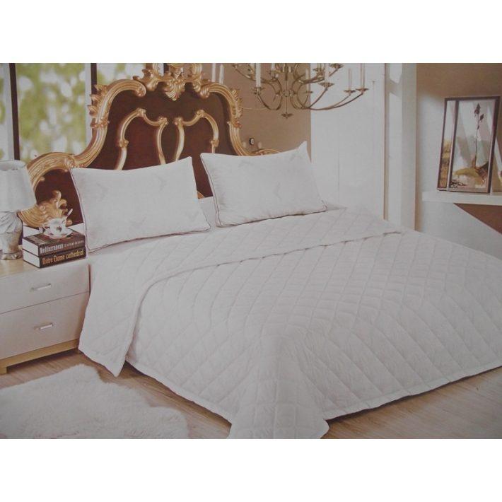 Sanzon Fehér Paplan Ágytakaró 200 x 230 cm