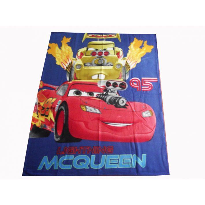 Cars Verdák Disney Polár pléd takaró 120x150cm