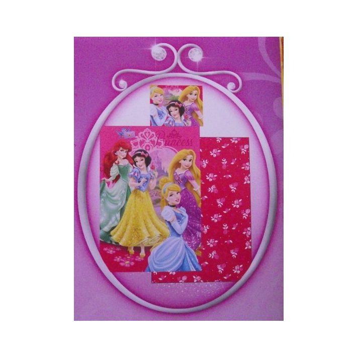 Princess Hercegnők Gyerek Pamut Ágynemű 2 részes