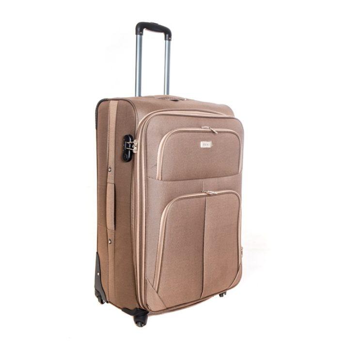 Goslar bronz-barna puhafalú kabin bőrönd