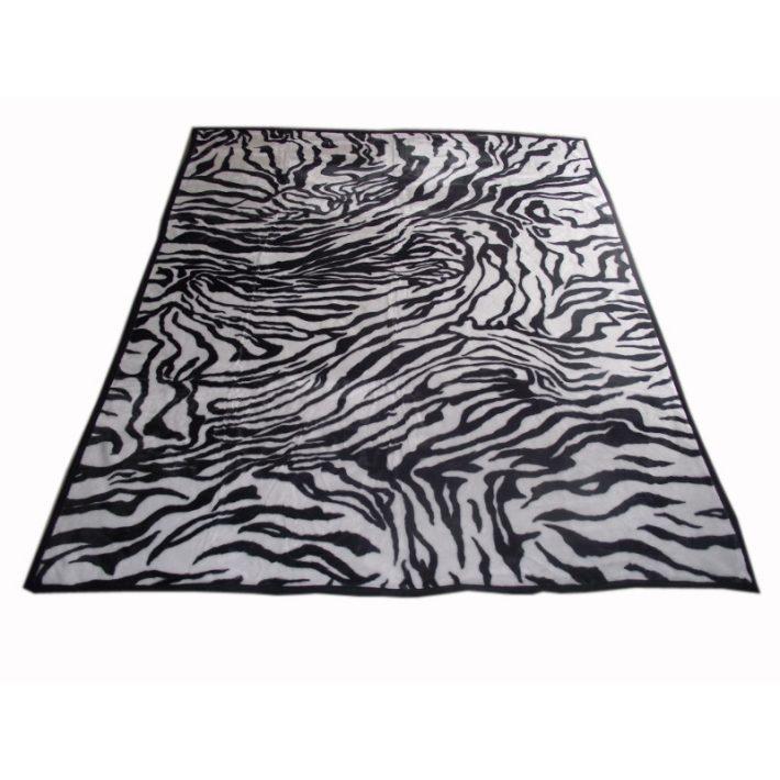 Vince Fekete Fehér Pléd 200 x 240 cm