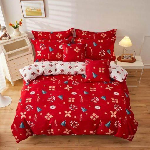 Amerika New York pamut ágynemű garnitúra 7 részes