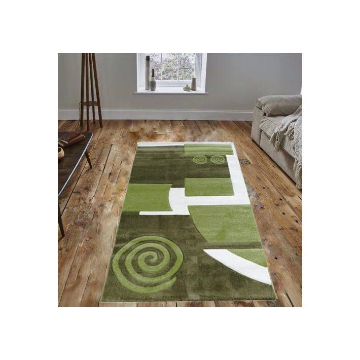 Mátra Nyírt Zöld Fehér szőnyeg