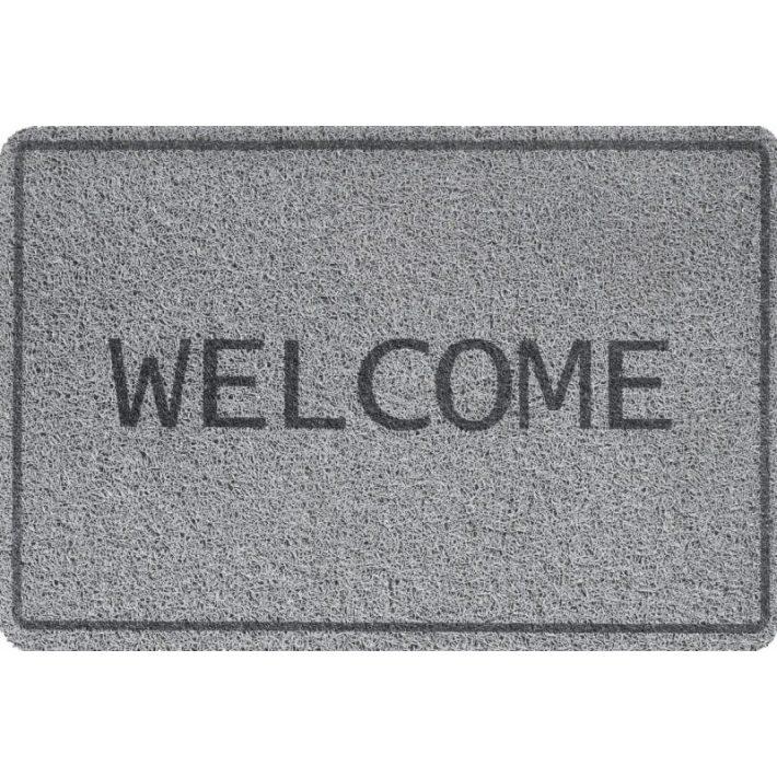 Home love kék gumi lábtörlő 40x60cm