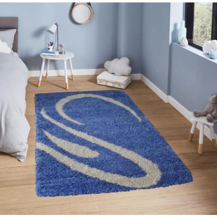 Denisz Kék Shaggy szőnyeg