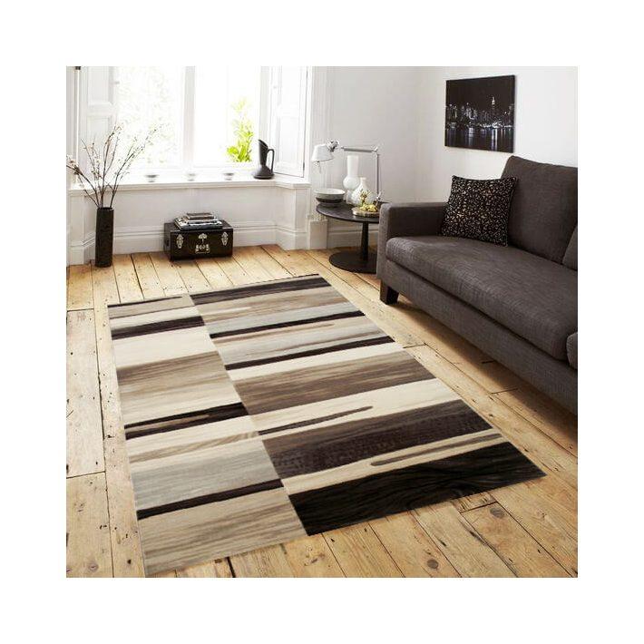Trieszto modern barna bézs szőnyeg