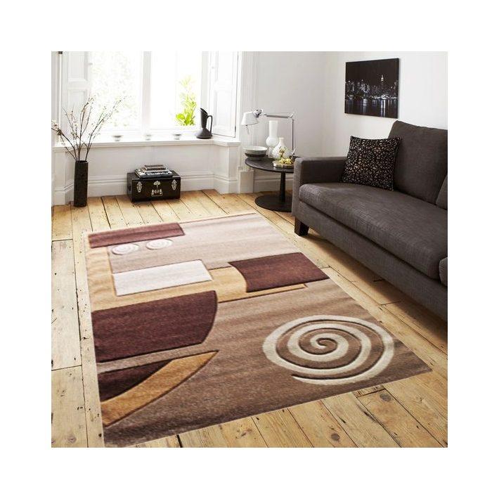 London Nyírt Barna Bézs szőnyeg