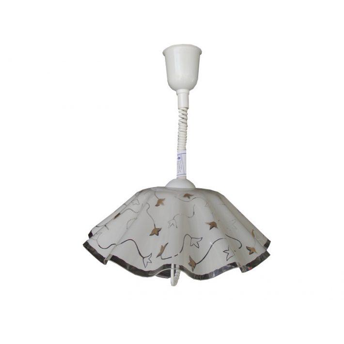 Erina fehér színű lehúzható függeszték