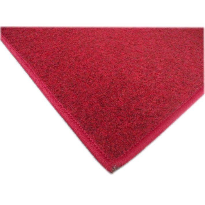 Auróra bordó piros Ipari Filc Padlószőnyeg 4 m széles