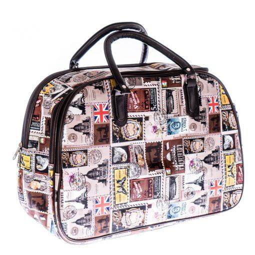 Haan barna - fekete fedélzeti táska WizzAir méret