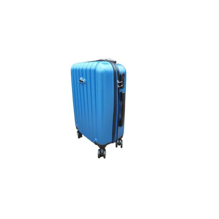 Esenn keményfalú bőrönd fekete színben