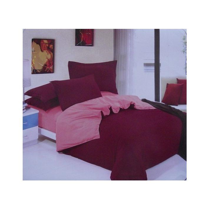 Valentin napi tüzes bordó ágynemű 7 részes