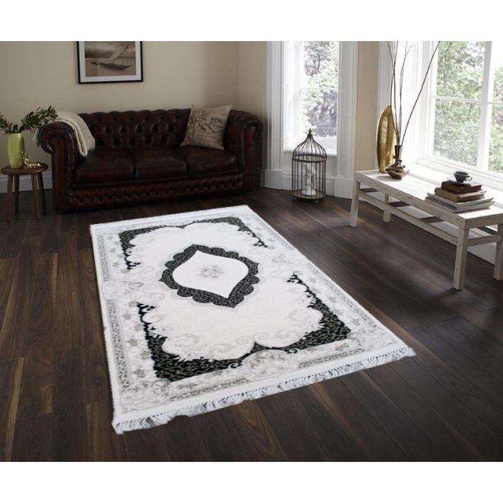 Romario prémium barna krém szőnyeg