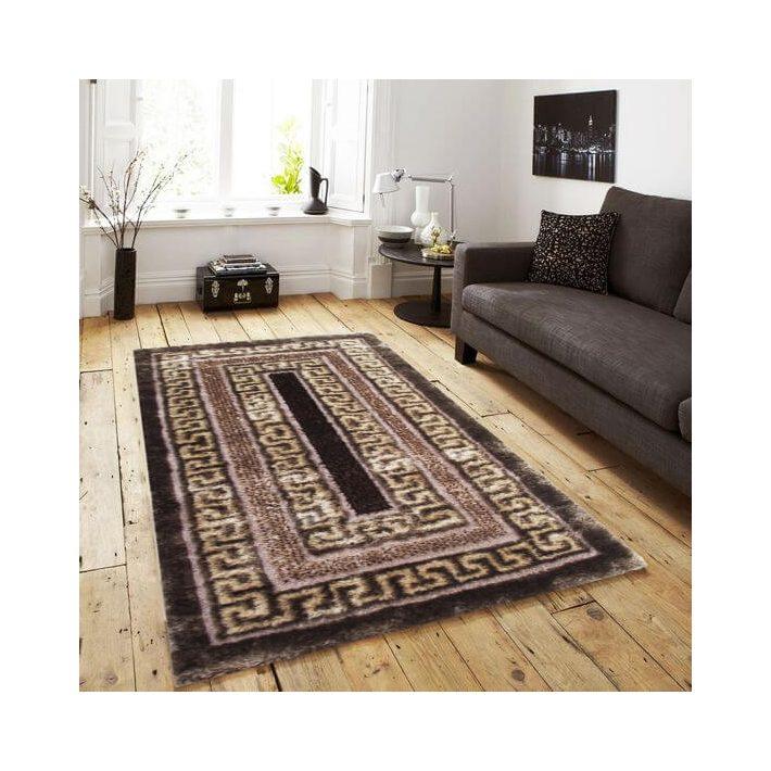 Conigilia design arany barna shaggy szőnyeg