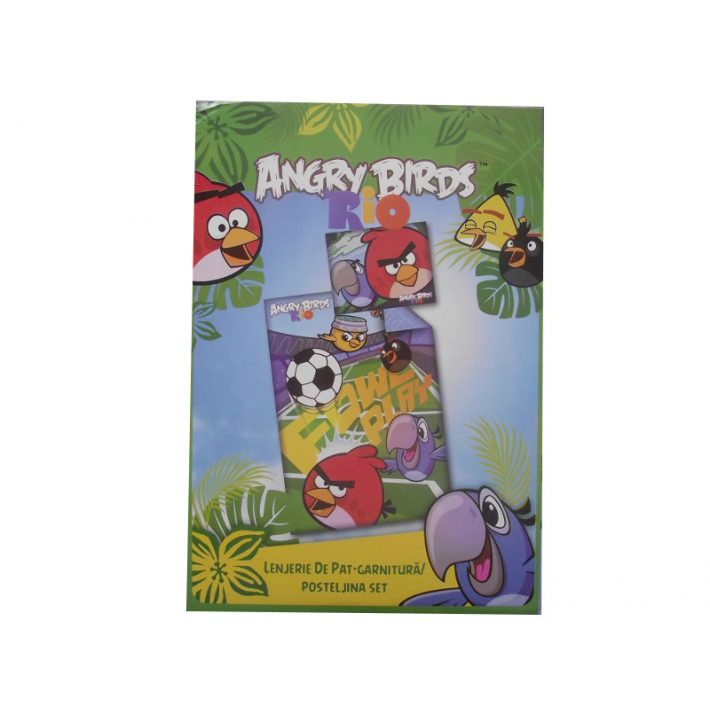 Angry Birds Pamut Gyerek Ágynemű 2 részes
