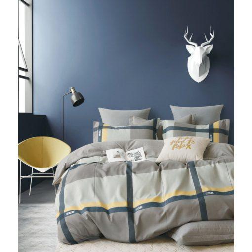Limo Zöld Sárga Pamut Ágyneműhuzat Garnitúra 7 részes