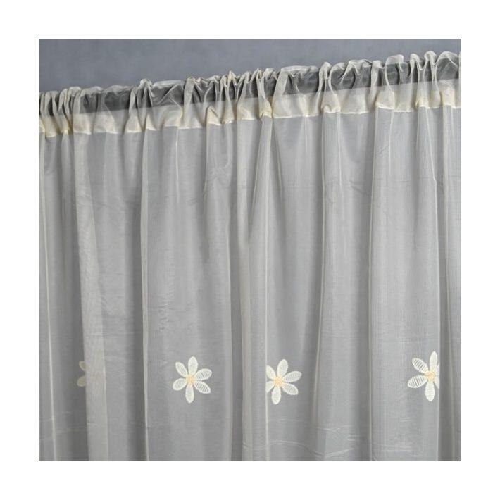 Hajnalka Narancs Organza Függöny 250 x 300 cm