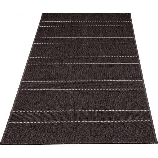 New York Fekete Krém Szizál jellegű szőnyeg