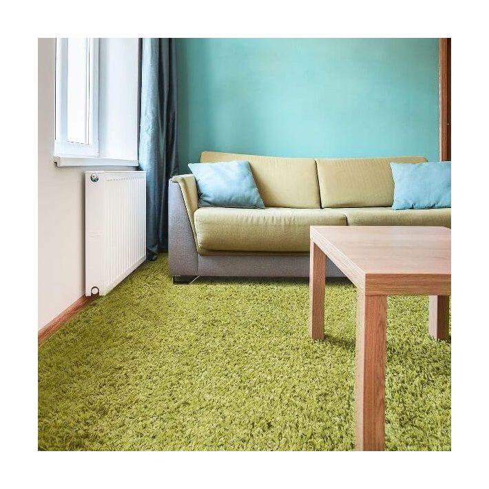 Betzi Zöld Padlószőnyeg Vastag 4 m széles