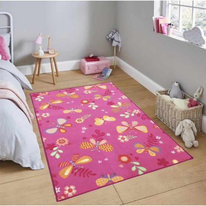 Rózsaszín Hello Kitty gyerekszőnyeg