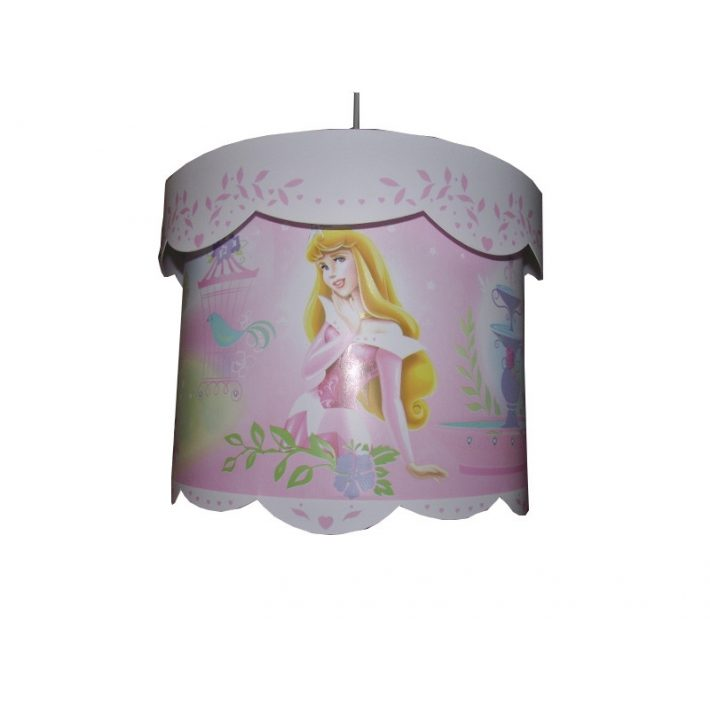 Chibi hercegnős Gyerek Csillár rózsaszín 1-es