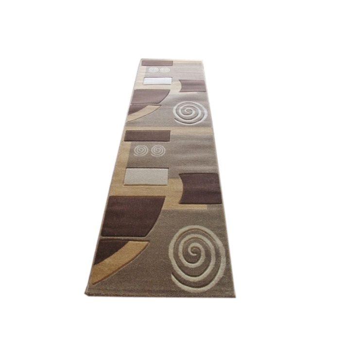Norina Barna Krém Nyírt Futószőnyeg 80 x 300 cm