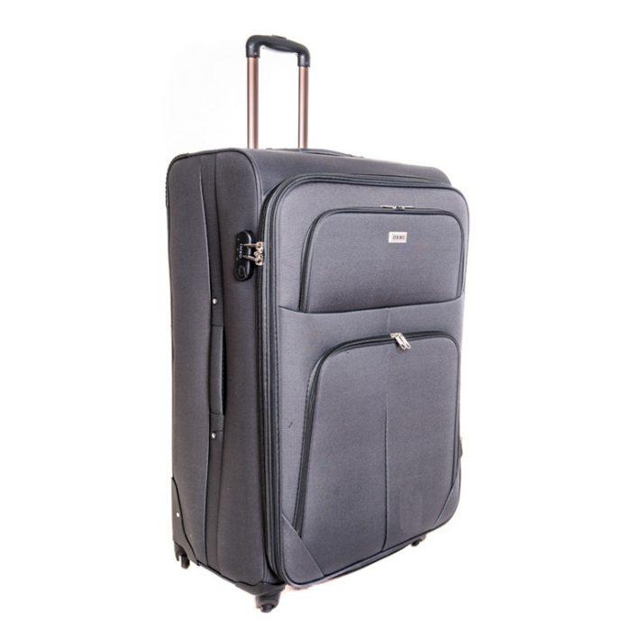 Bamberg puhafalú kabin bőrönd sötétszürke