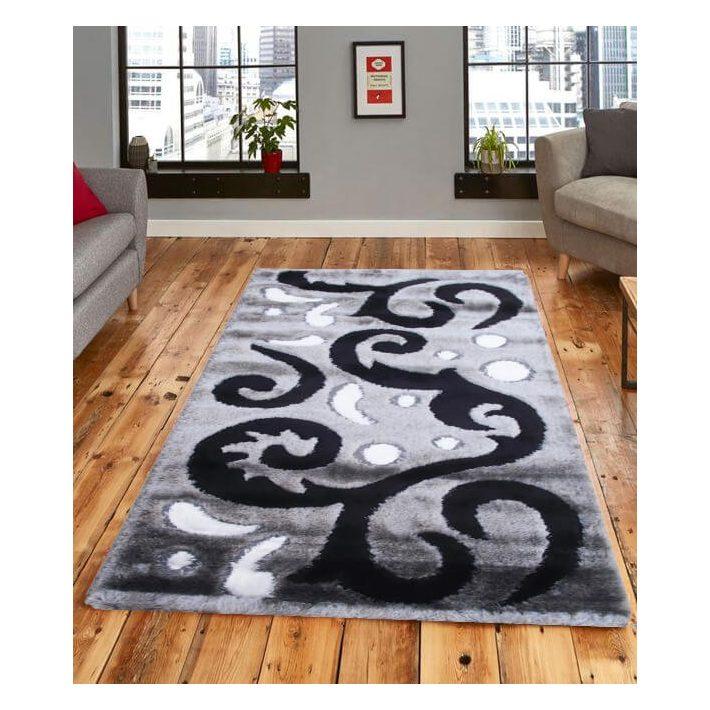 Sierra design szürke shaggy szőnyeg