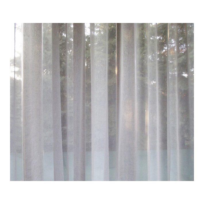 Gina Fehér Organza Függöny 250 x 300 cm