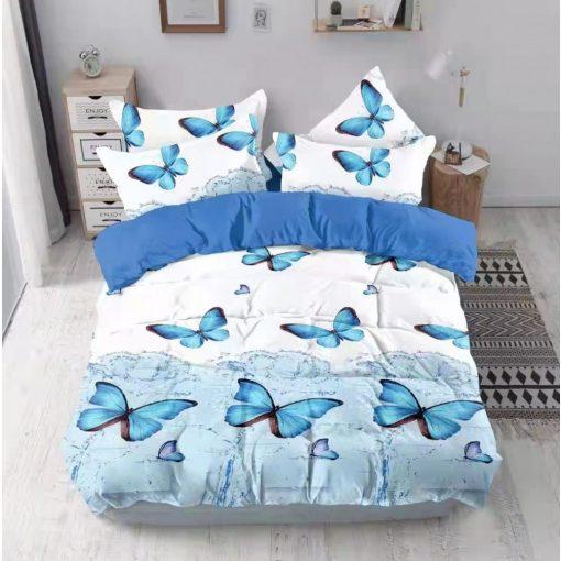 Fülöp kockás pamut ágyneműhuzat fekete fehér 7 részes