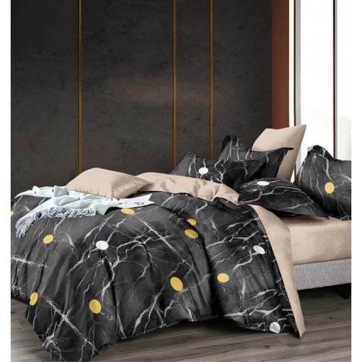 Gomez Kék Virágos Pamut Ágyneműhuzat Garnitúra 6 részes