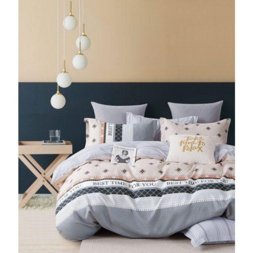 Puszedli Színes Karácsonyi Ágyneműhuzat Pamut 7 részes