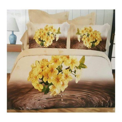Tiffany 3D Virágos Ágyneműhuzat Garnitúra 3 részes
