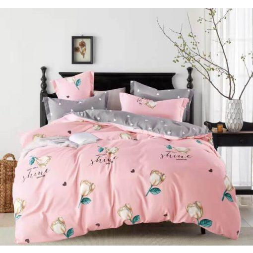 Ugocsa piros ágynemű garnitúra 7 részes